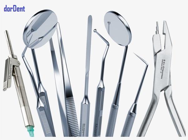 پنس های دندانپزشکی
