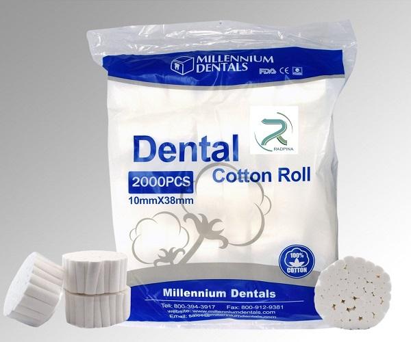 رول پنبه دندانپزشکی خارجی
