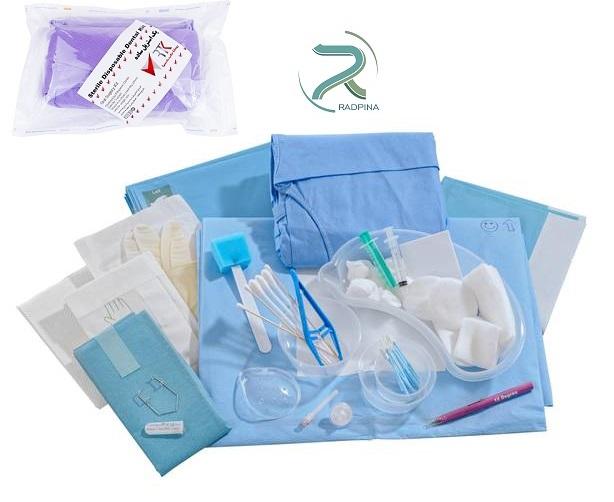 پک جراحی استریل دندانپزشکی